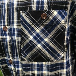 Vans Shirts - Vans Off The Wall flannel Sycamore shirt.